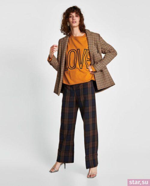 желтый и коричневый в одежде 2018
