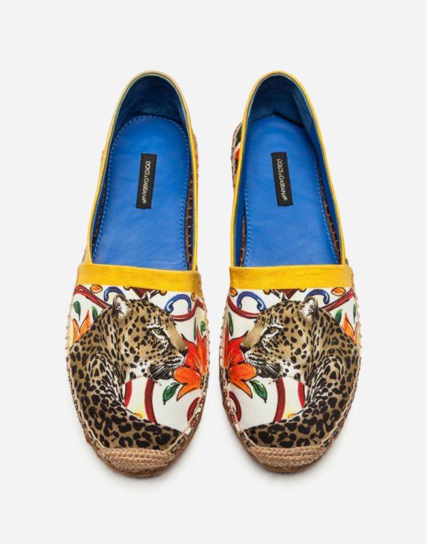принтованная обувь