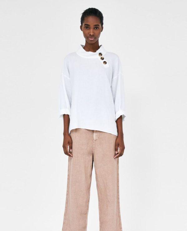 модные цвета лето 2020: белый и розовый в одежде