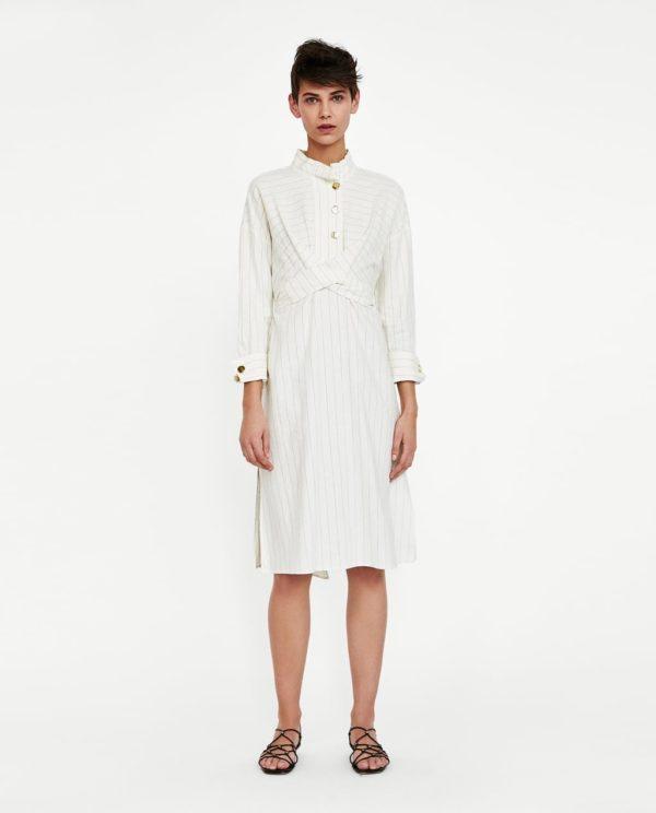 модные цвета лето 2020: белый в одежде