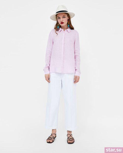 розовый и белый в одежде 2018