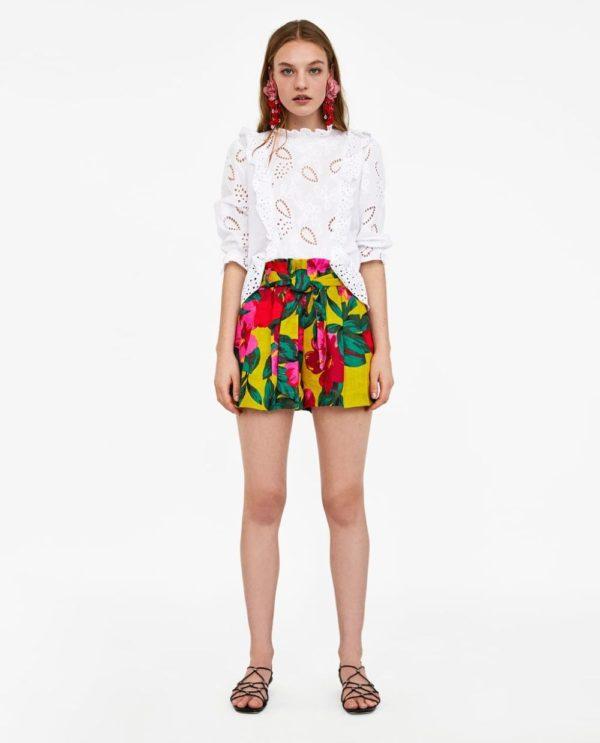 модные цвета лето 2020: белый и цветной в одежде