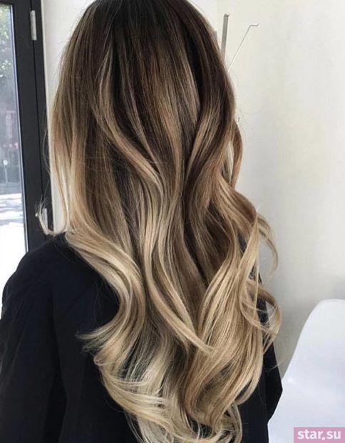 модный цвет волос весна-лето 2018 года