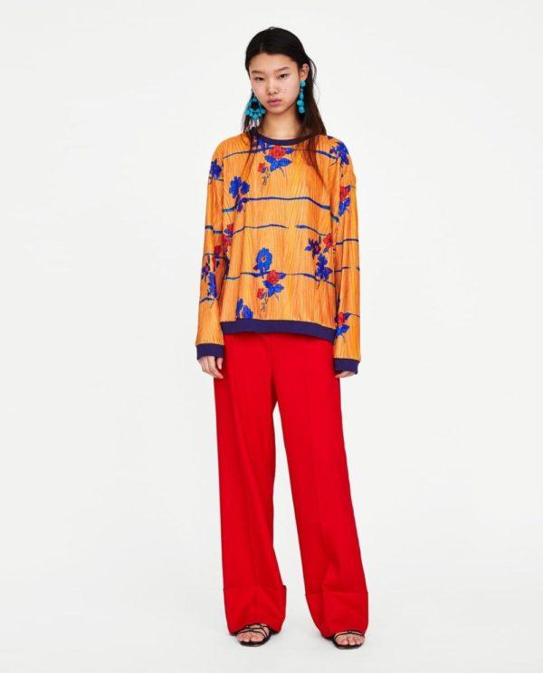 модные цвета весна 2020: оранжевый и красный в одежде