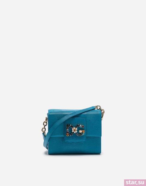 синяя сумка весна-лето 2018