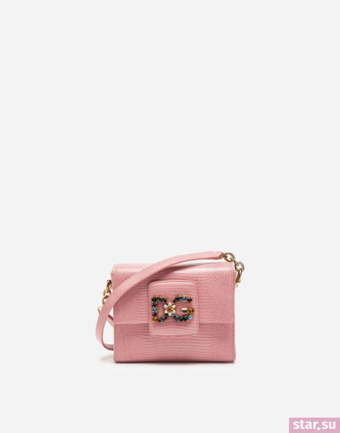 розовая сумка весна-лето 2018