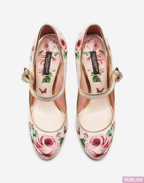 розовая обувь весна-лето 2018