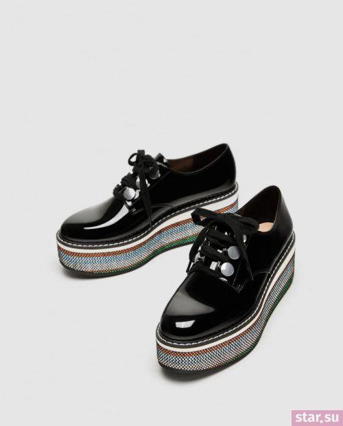 Модные туфли осень-зима