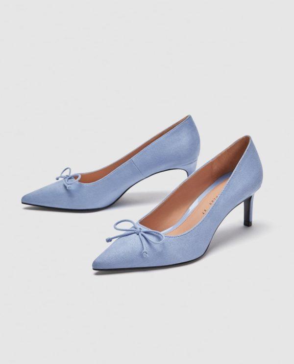 голубые туфли осень-зима 2019-2020
