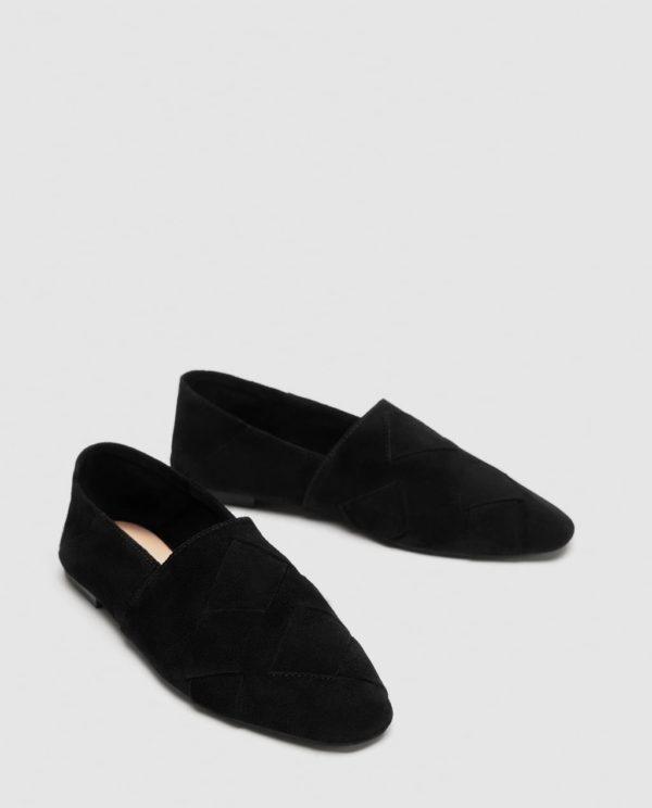 черные туфли осень-зима 2019-2020