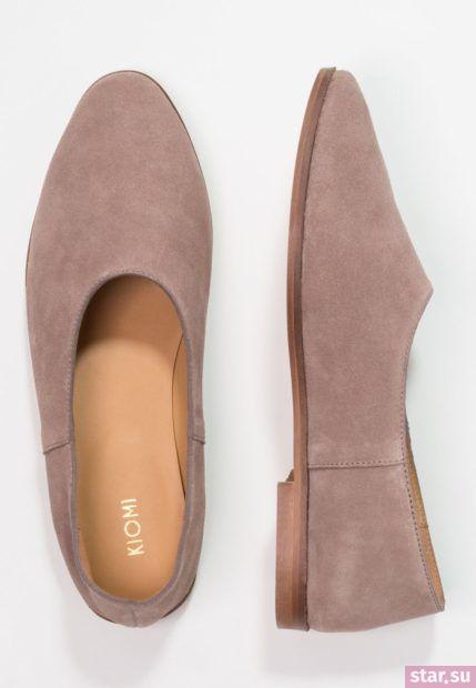 розовая обувь без каблука