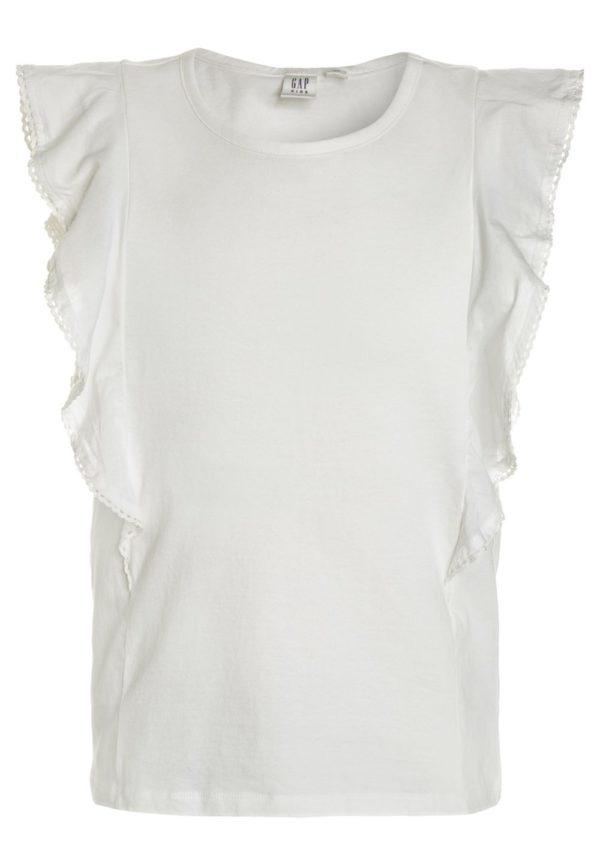 Детская мода 2018-2019: белая блузка для девочки