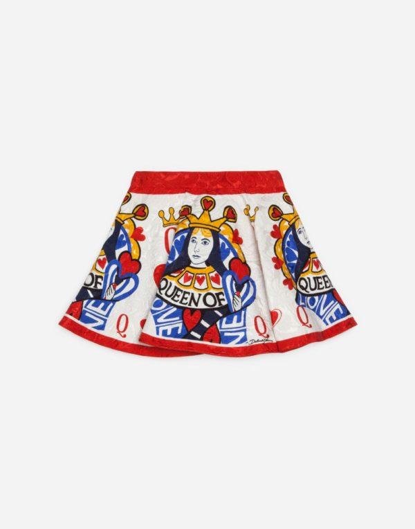 Детская мода 2018-2019: Принтованная юбка для девочки