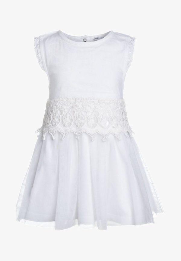 Детская мода 2018-2019: белое платье для девочки