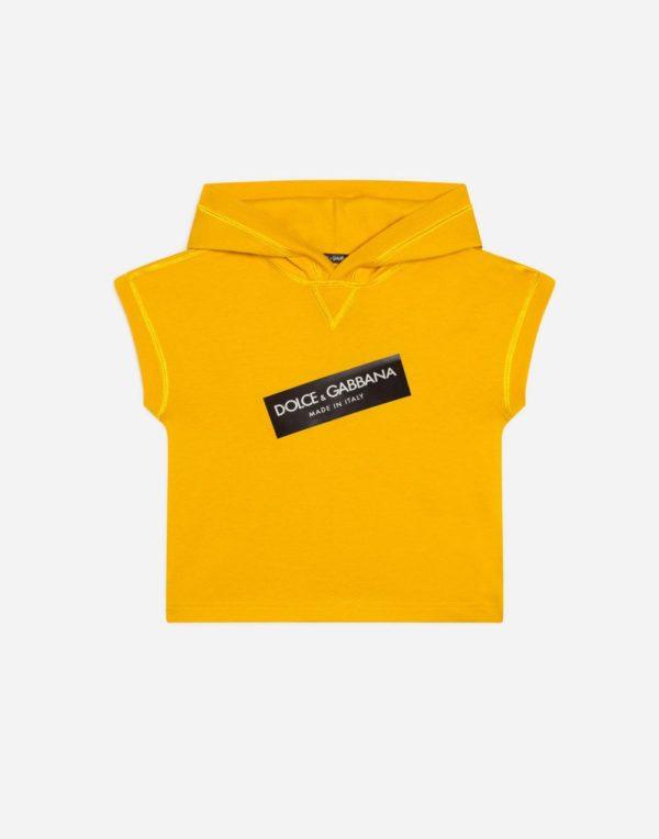 желтая футболка для мальчиков