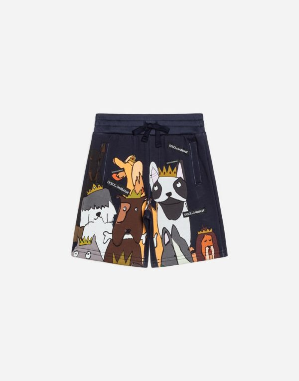 принтованные шорты для мальчиков