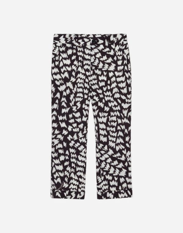 принтованные брюки для мальчиков