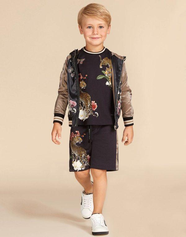 принтованная куртка для мальчиков
