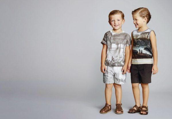 Детская мода лето