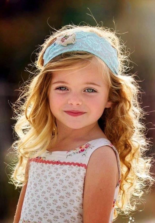 Красивые прически на каждый день: Детские