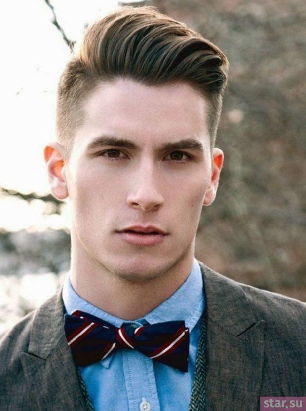 Модные мужские стрижки: Под фрица