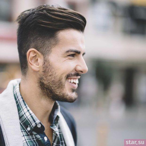 модные мужские стрижки: Андеркат