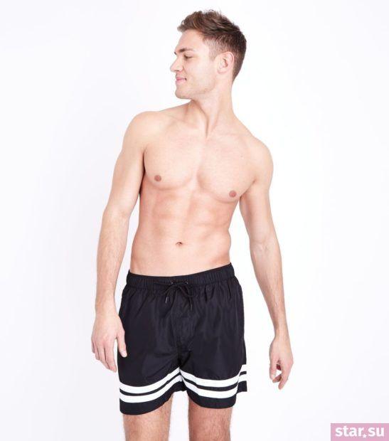 Модные пляжные мужские шорты сезона весна-лето 2018