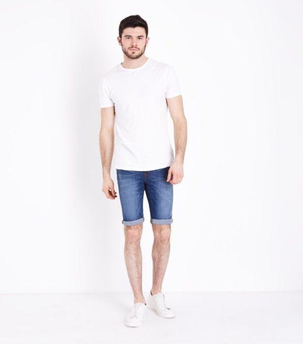 Модные джинсовые мужские шорты сезона весна-лето 2019