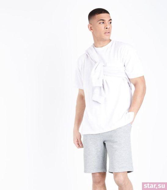 Модные серые мужские шорты сезона весна-лето 2018
