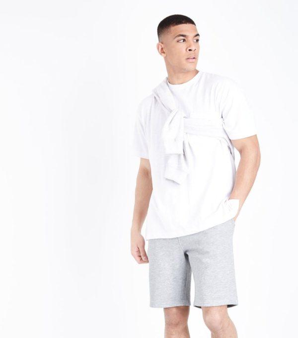 Модные серые мужские шорты сезона весна-лето 2019