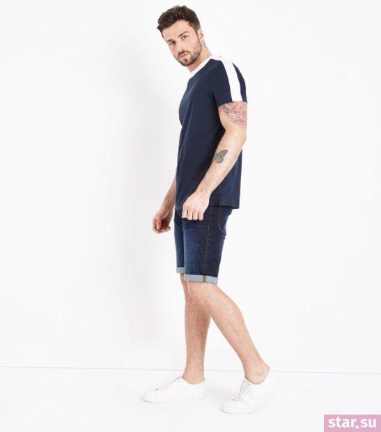 Модные джинсовые мужские шорты сезона весна-лето 2018