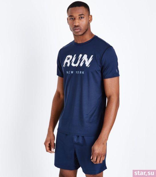 Модные синие мужские шорты сезона весна-лето 2018